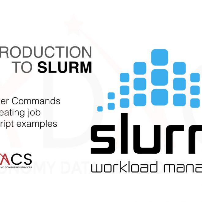 Introduction to SLURM