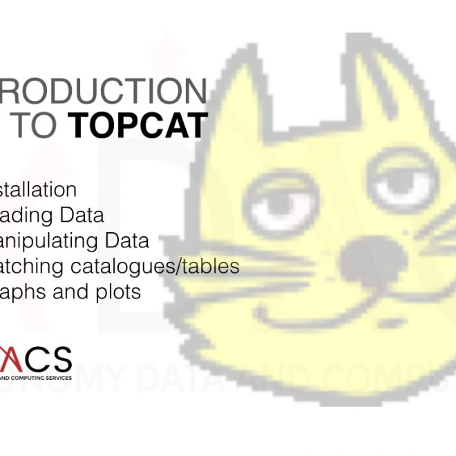 Introduction to TOPCAT