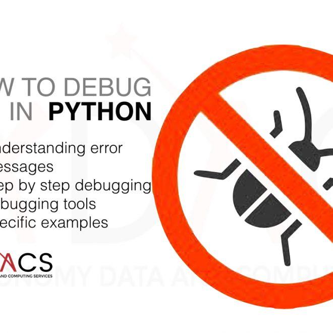 How to Debug Python Code